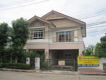 บ้านเดี่ยวหลุดจำนอง ธ.ธนาคารกรุงศรีอยุธยา จังหวัดนนทบุรี ปากเกร็ด บางพลับ