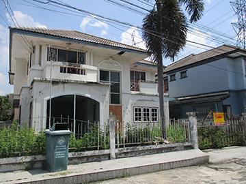 บ้านเดี่ยวหลุดจำนอง ธ.ธนาคารกรุงศรีอยุธยา จังหวัดนนทบุรี ปากเกร็ด บ้านใหม่