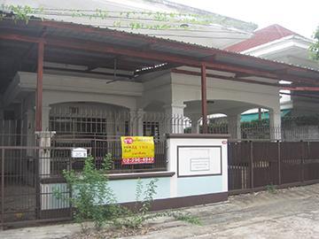 บ้านเดี่ยวหลุดจำนอง ธ.ธนาคารกรุงศรีอยุธยา กรุงเทพมหานคร เขตตลิ่งชัน (บางระมาด)