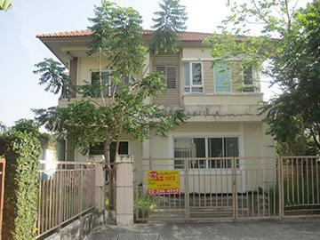 บ้านเดี่ยวหลุดจำนอง ธ.ธนาคารกรุงศรีอยุธยา กรุงเทพมหานคร เขตประเวศ ดอกไม้